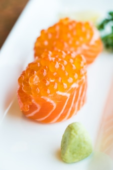Zalm sushi