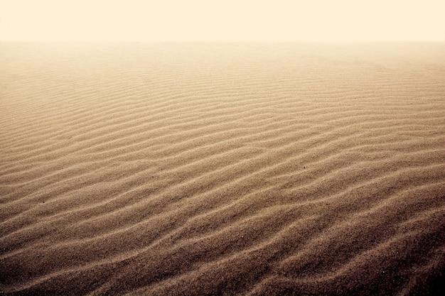 Zand in de woestijn