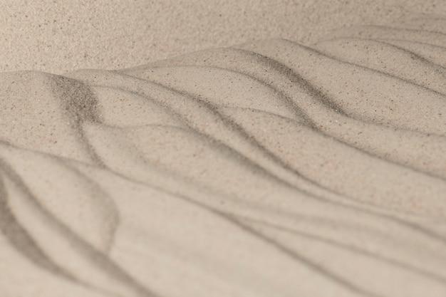 Zand oppervlaktetextuur achtergrond in wellness concept