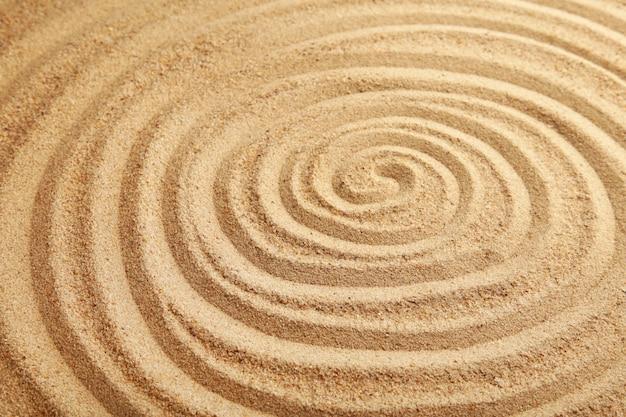Zand textuur. zandstrand voor achtergrond. bovenaanzicht