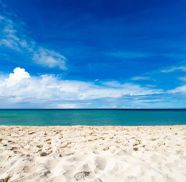 Zand van het strand