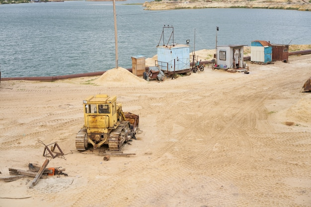 Zandgroeve mijnbouw