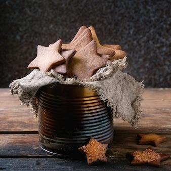 Zandkoek stervormige suikerkoekjes