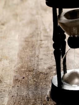 Zandloper tijd meten
