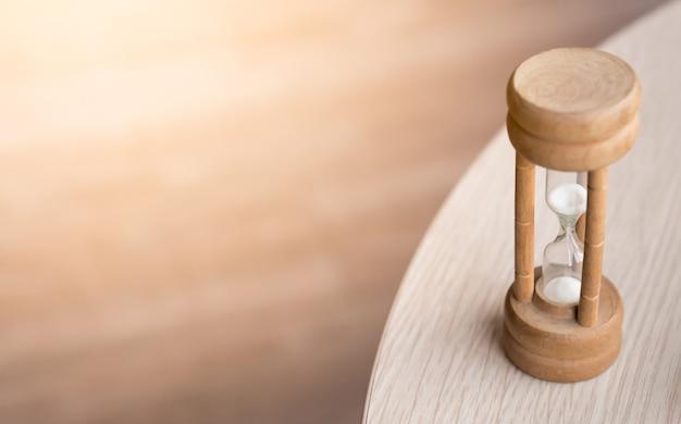 Zandwacht op de houten lijst