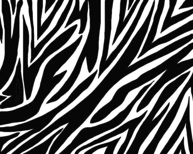 Zebra huid patroon