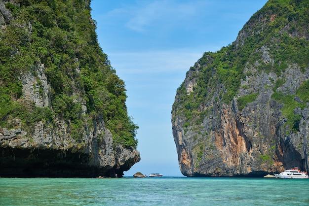 Zee eiland hemel reis phuket