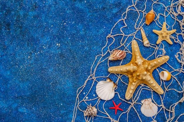 Zee marine met glitter