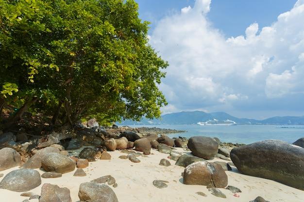 Zee tropisch paradijs