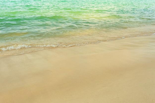 Zee. tropisch paradijs.