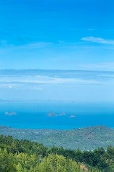 Zee van strand caribische zee