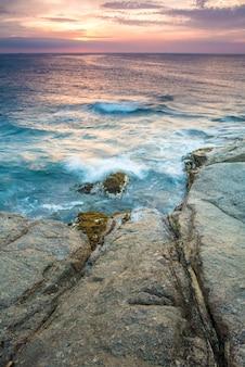 Zeegezicht in costa brava