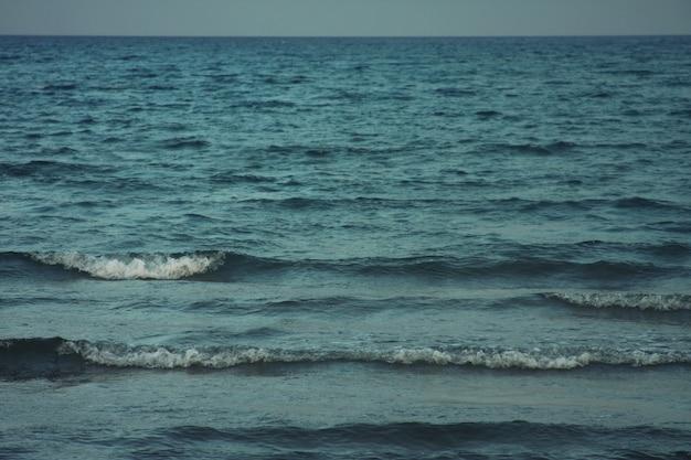 Zeekust in de zomer
