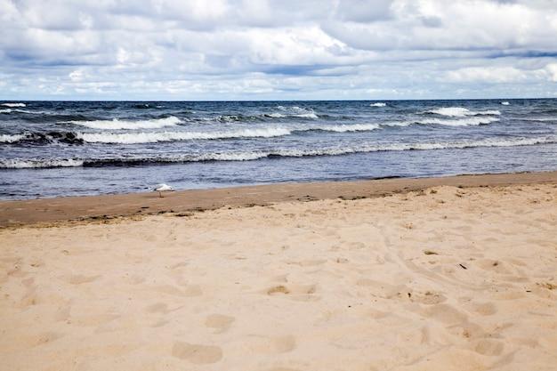 Zeekust van augustus