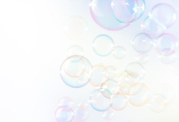 Zeepbellen achtergrond