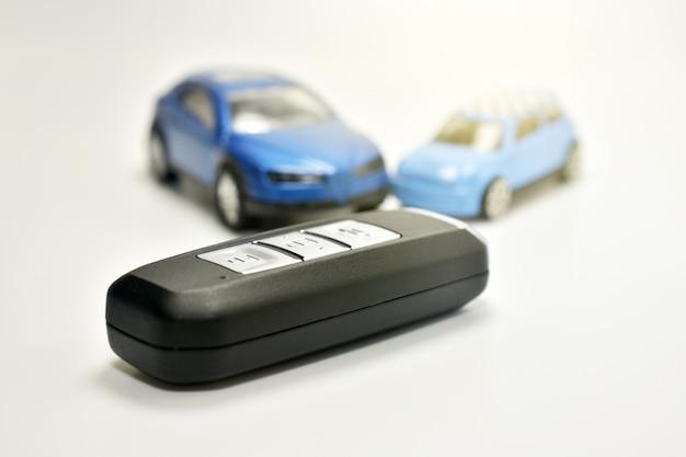Zeer belangrijke auto op witte lijst en automodel