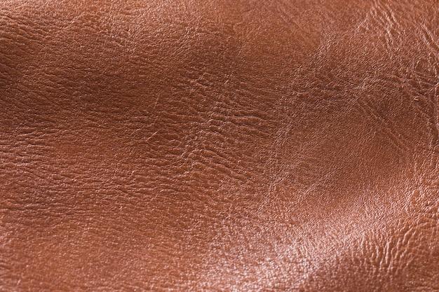 Zeer close-up kwaliteit lederen kopie ruimte