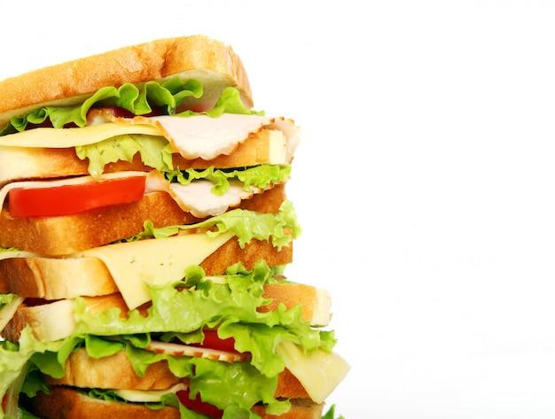 Zeer grote sandwich