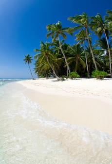 Zeestrand. vakantie en toerisme concept.