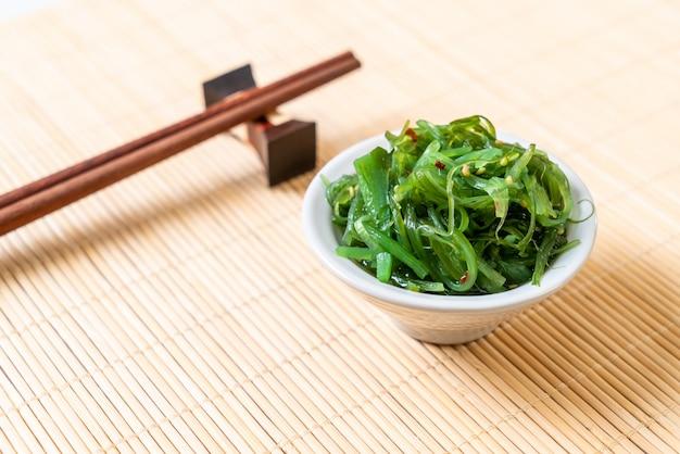 Zeewiersalade - japanse stijl