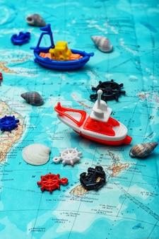 Zeilen en zee reizen