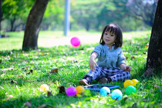 Zekerheid van kinderen vond de manier om te leren genieten van volwassen tot een goede vaardigheid voor het menselijk leven.