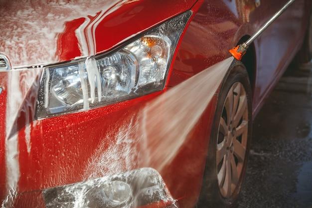Zelfbediening voor contactloze autowasstraten