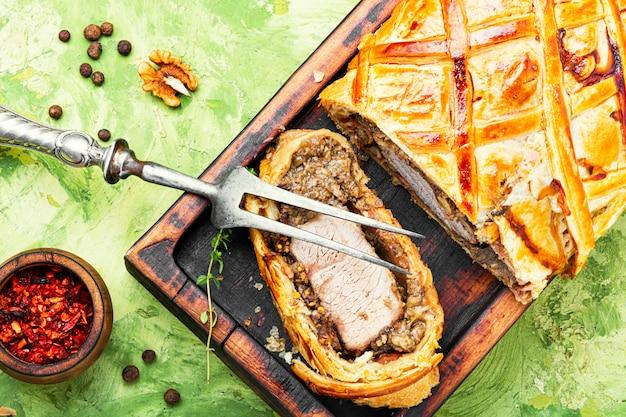 Zelfgemaakt kerstvlees wellington