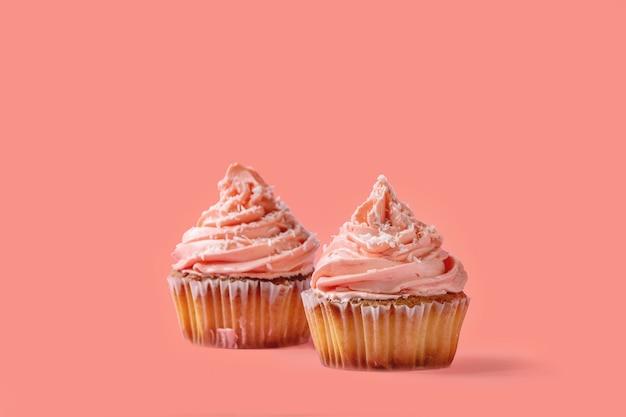 Zelfgemaakte cupcake met buttercream
