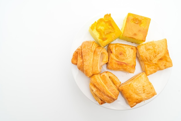 Zelfgemaakte grok palmtaart