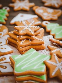 Zelfgemaakte heerlijke kerst peperkoek koekjes