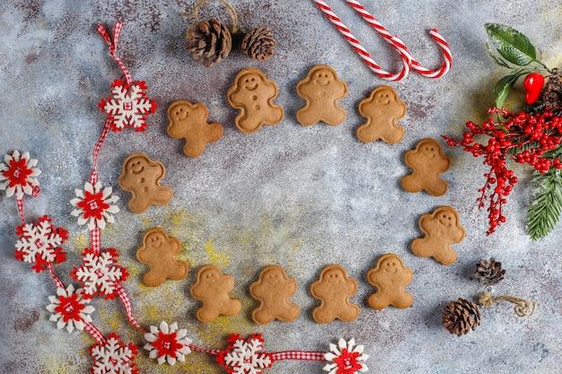 Zelfgemaakte heerlijke peperkoekkoekjes. Gratis Foto
