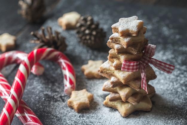 Zelfgemaakte kerstkoekjes