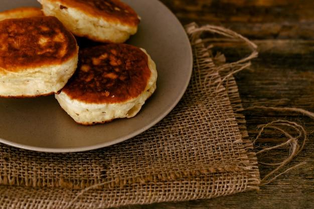 Zelfgemaakte pannenkoeken