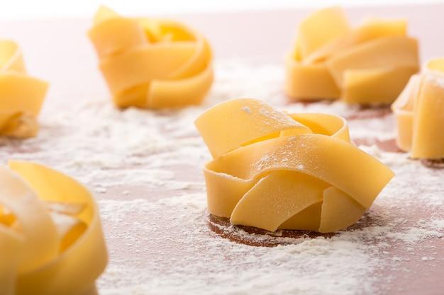 Zelfgemaakte pasta