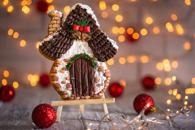 Zelfgemaakte peperkoek kerstkoekjes