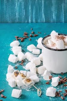 Zelfgemaakte vanille marshmallow