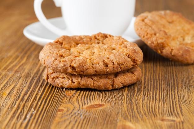 Zelfgemaakte verse en geurige koekjes