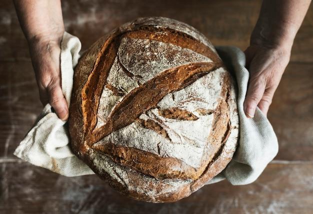 Zelfgemaakte zuurdesem brood recept recept idee