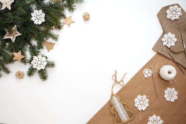 Zero waste kerstversieringen en ornamenten