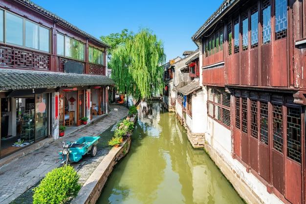 Zhouzhuang ancient town in jiangsu