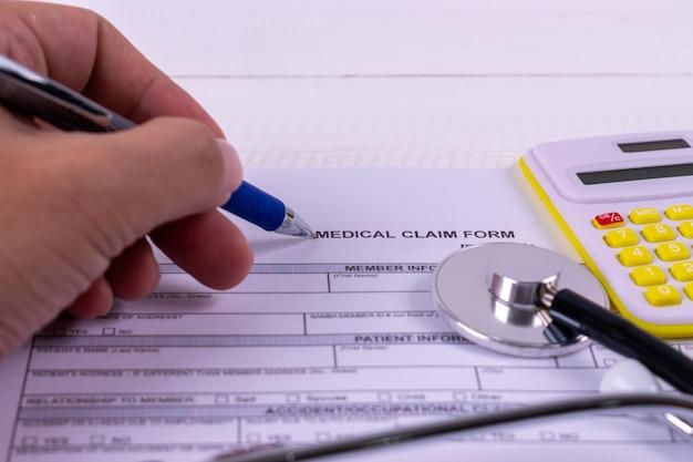 Ziektekostenverzekering concept