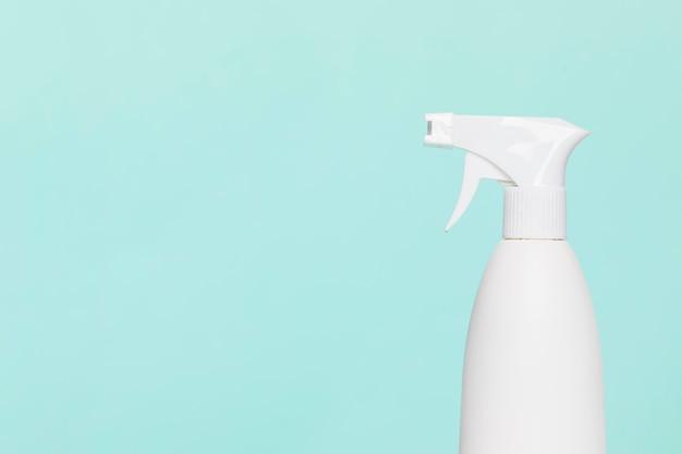 Zijaanzicht van wassingsfles met exemplaarruimte