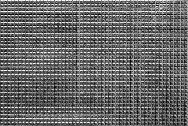 Zilver folie isolatie patroon textuur achtergrond