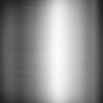 Zilver geborstelde metaaltextuur als achtergrond