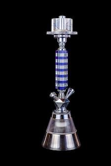 Zilver met blauwe waterpijp