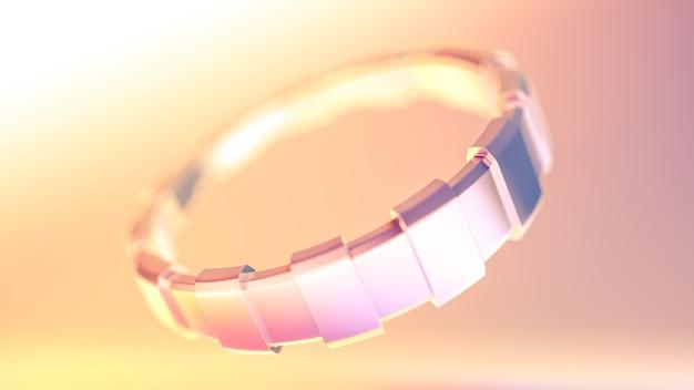 Zilveren armband, kralen, sieraden.