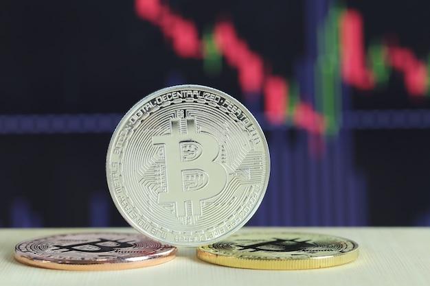 Zilveren bitcoin