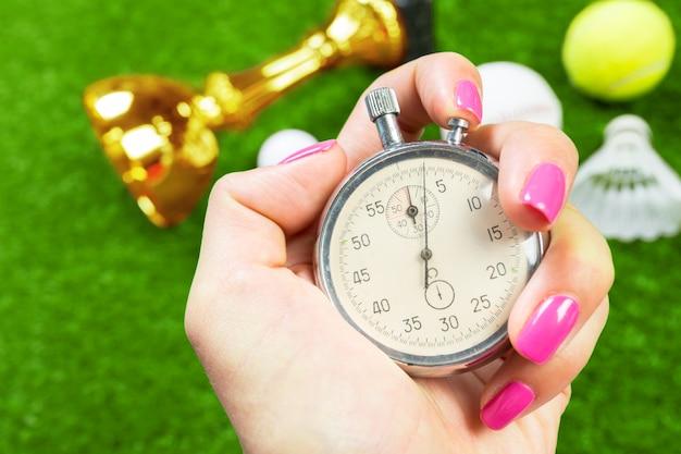 Zilveren chronometer