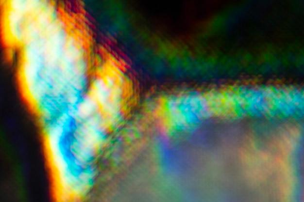 Zilveren hologram textiel achtergrond